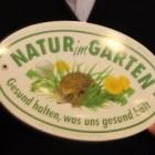 """Plakette """"Natur im Garten"""""""